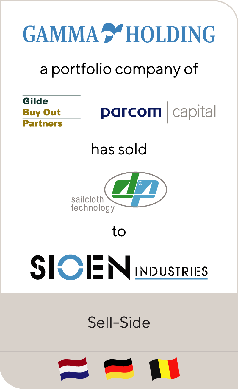 Gamma Holding has sold Dimension-Polyant to Sioen Industries