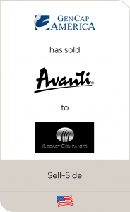 Gen Cap America has sold Avanti Products to The Legacy Companies