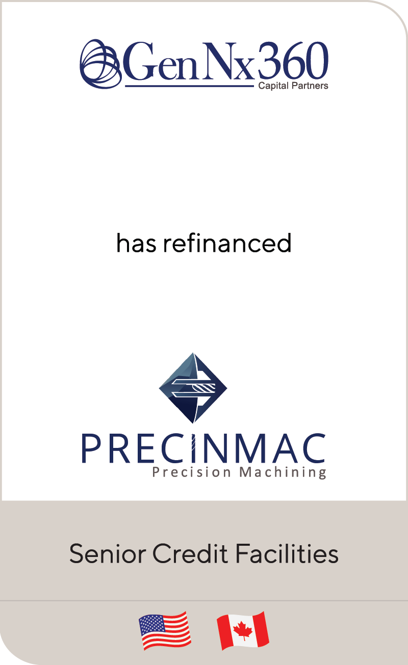 GenNx360 Capital Partners has refinanced Precinmac