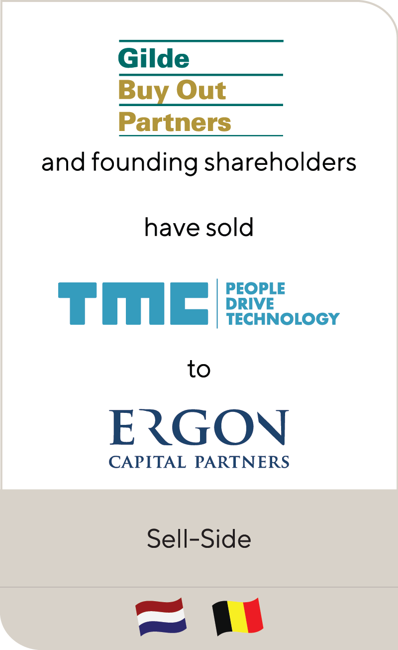 Gilde Buy Out Partners has sold TMC to Ergon Capital Partners