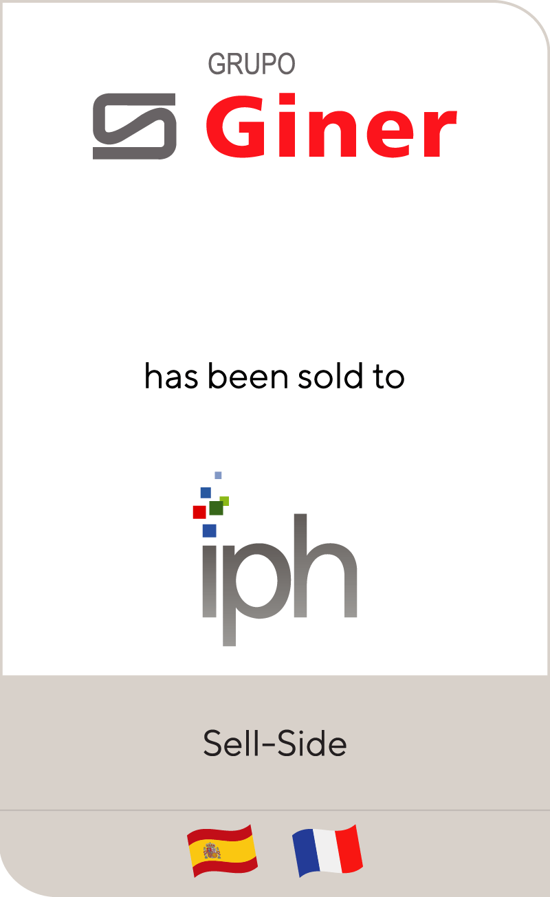 BUENAVENTURA GINER has been sold to IPH Group
