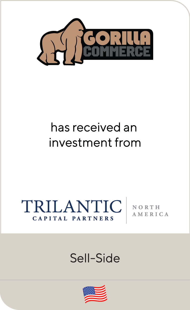Gorilla Commerce Trilantic Capital Partners 2019