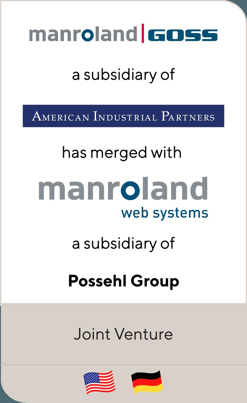 Goss has merged with manroland