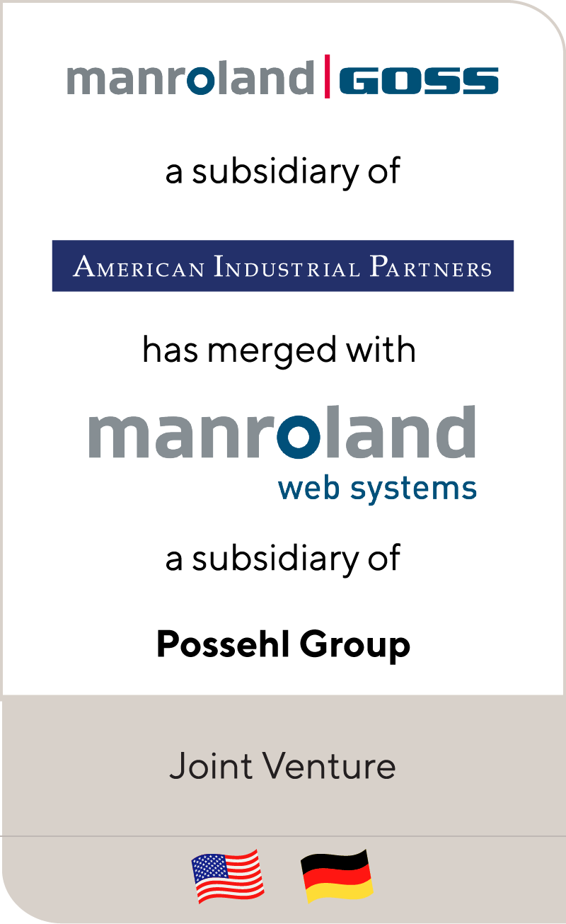 Goss has merged with manroland