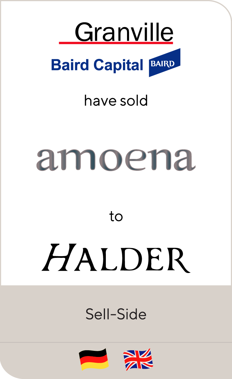 Granville and Baird have sold Amoena to Hadler 2014