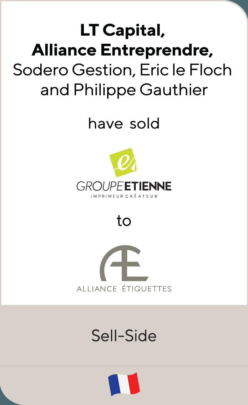 Groupe Etienne Alliance Etiquettes 2018