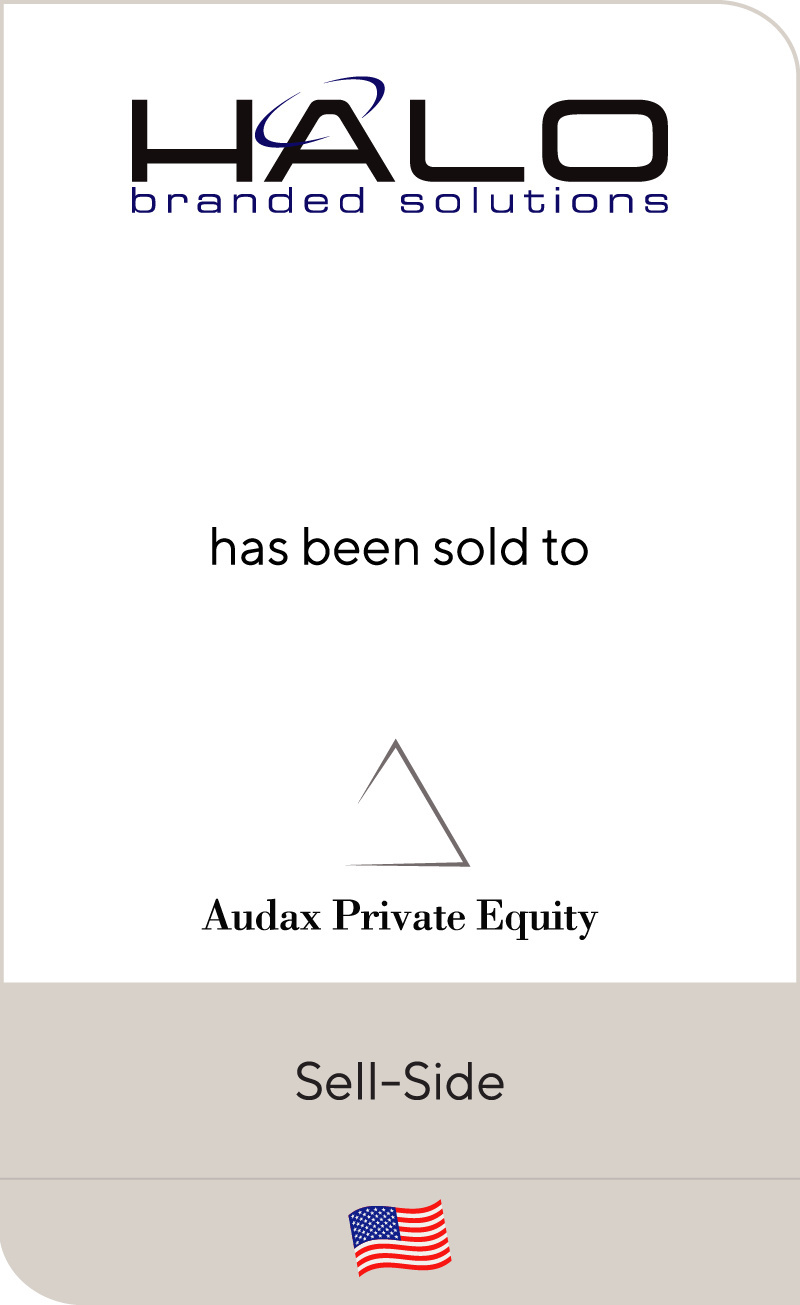 HALO Branded Solutions has been sold to Audax Private Equity