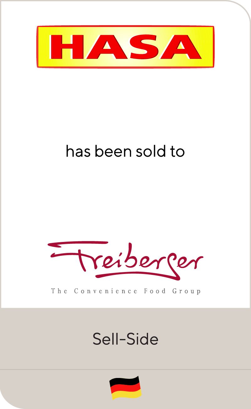 HASA has been sold to Freiberger