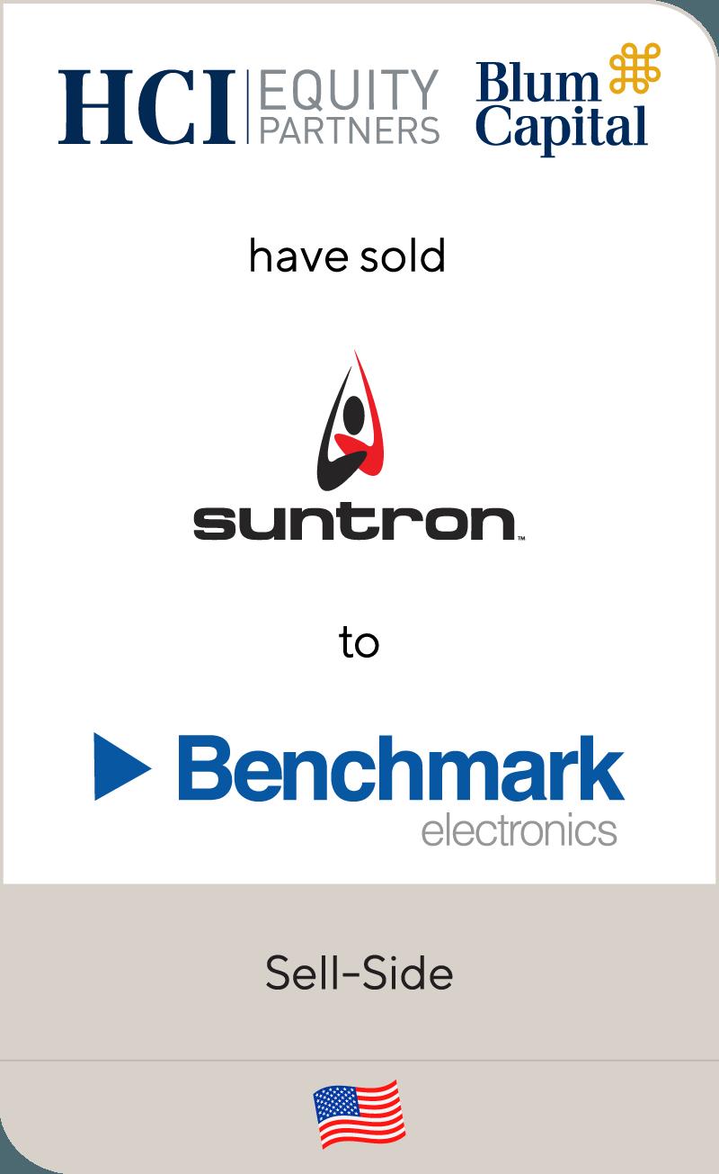 HCI EquityPartners Blum Capital Suntron Benchmark 2013
