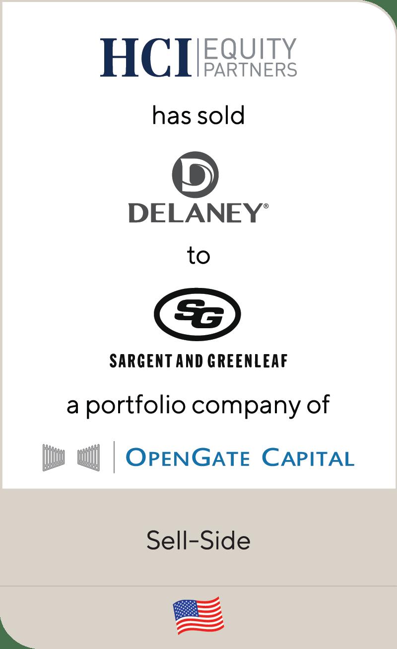 HCI Delaney Sargent & Greenleaf S&G OpenGate 2019