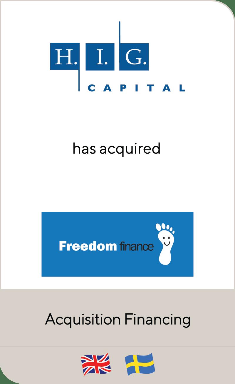 HIG Capital FreedomFinance 2013