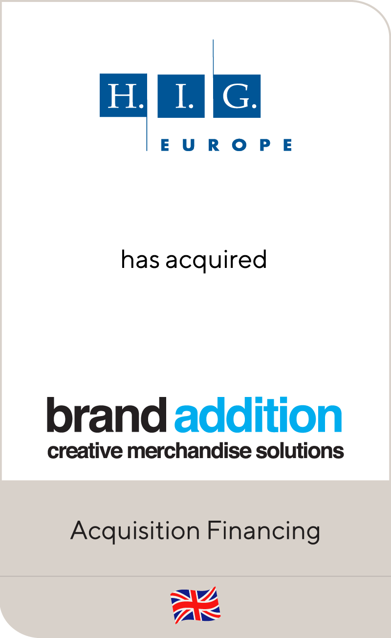HIG Europe Brand Addition 2012