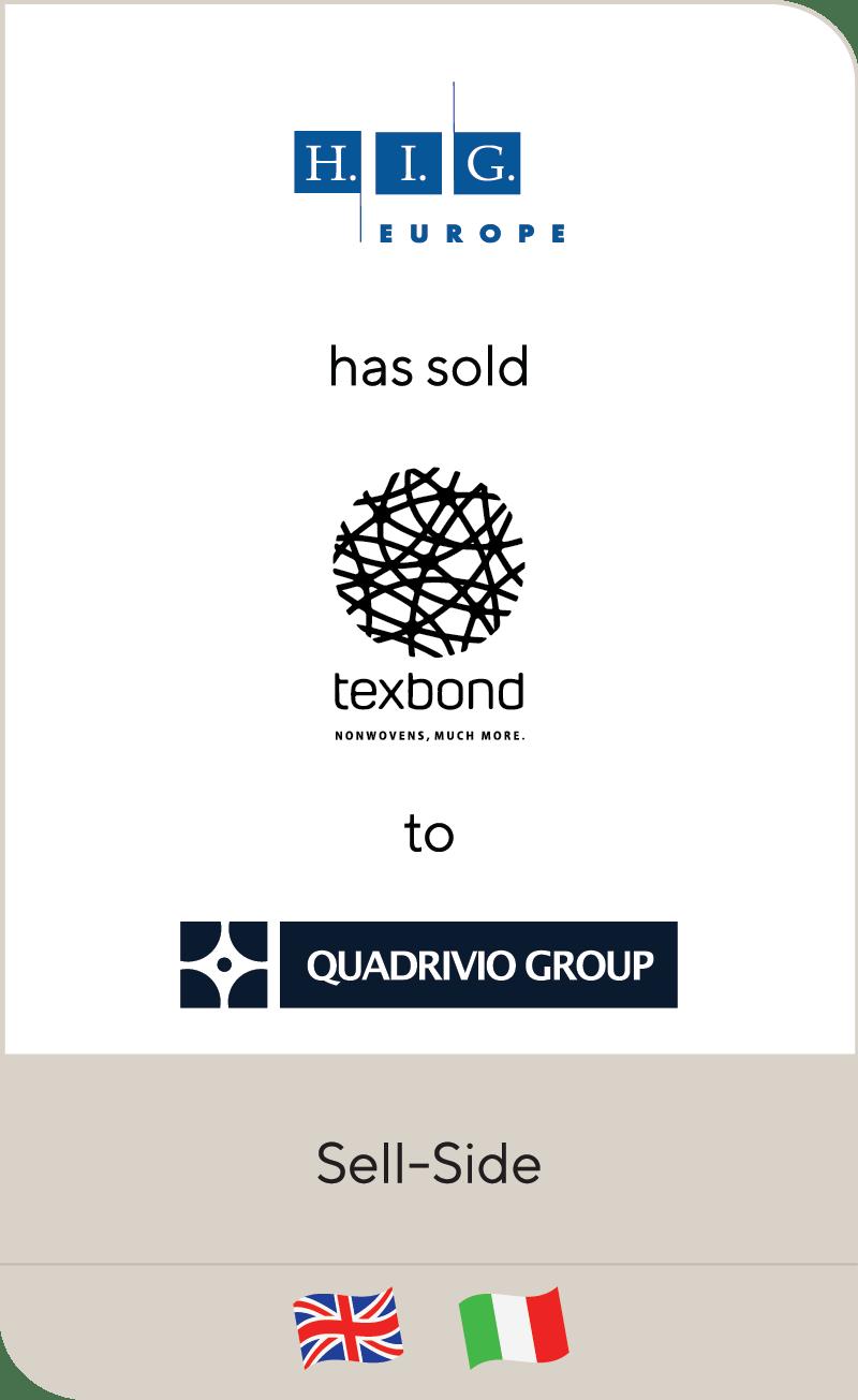 HIG Europe Texbond Quadrivio Group 2021