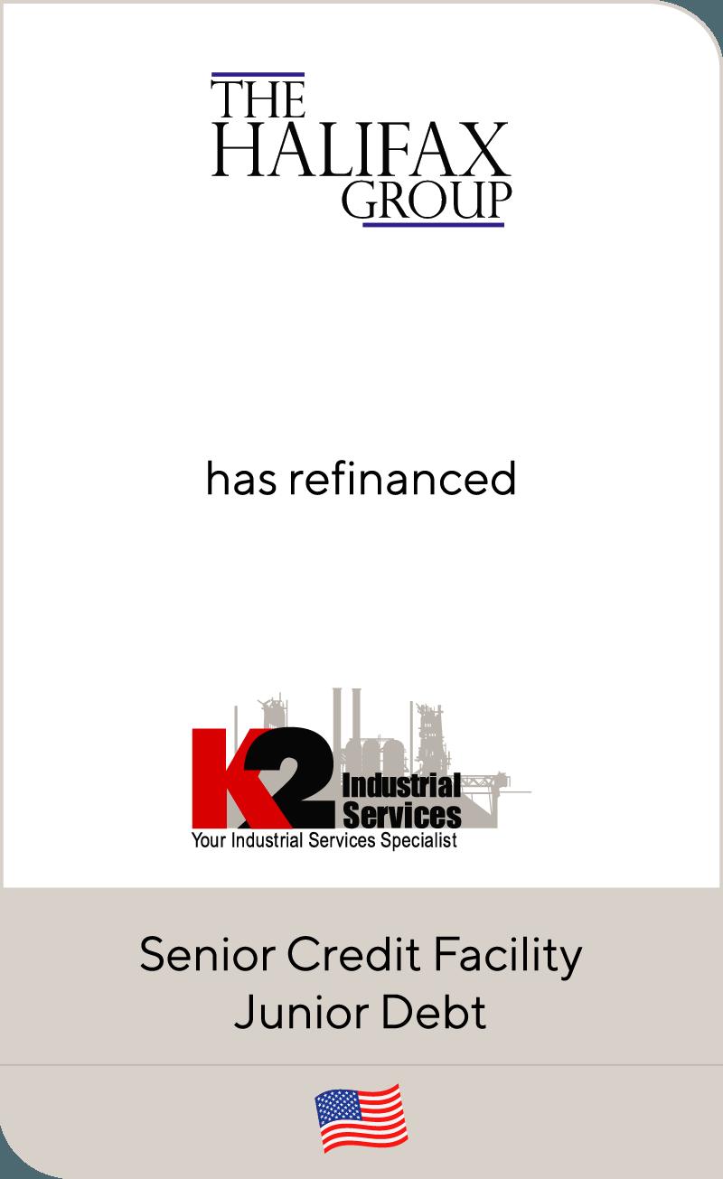 Halifax has refinanced K2