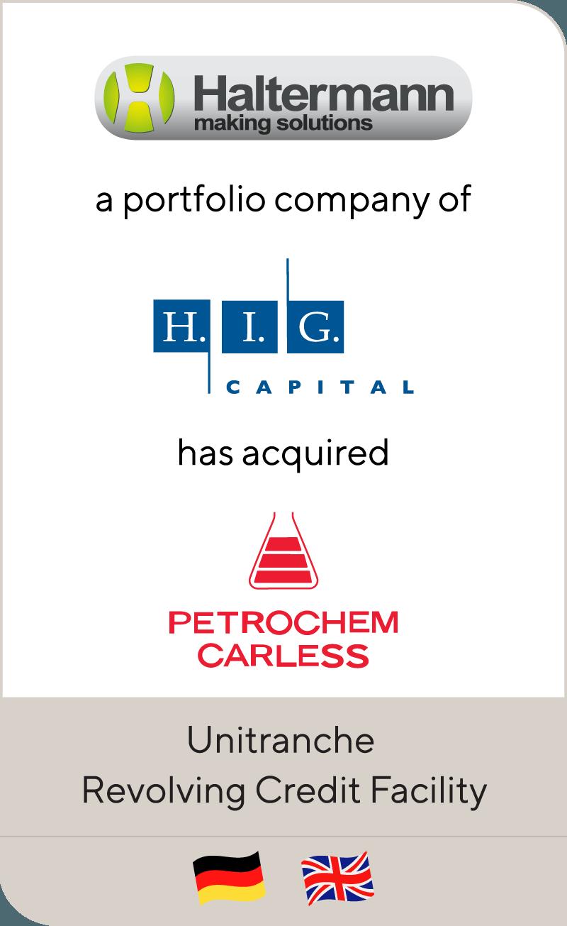 Haltermann H.I.G. Capital Petrochem Carless 2013