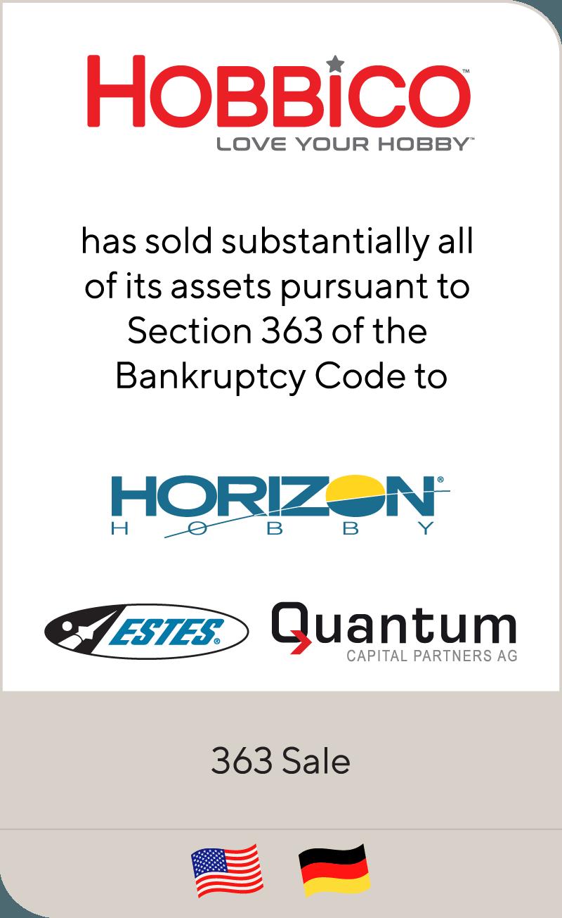 Hobbico Horizon Hobby Estes Quantum 2018