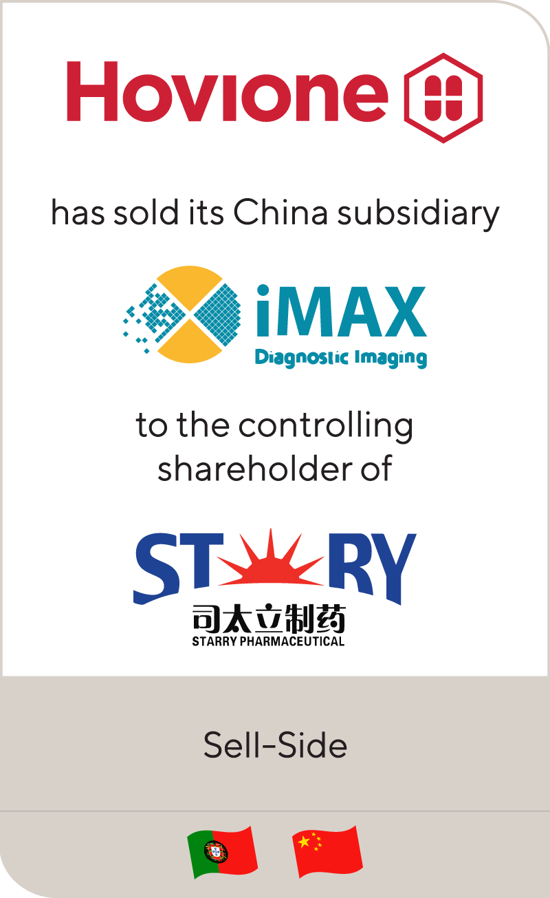 Hovoine has sold iMAX to Starry