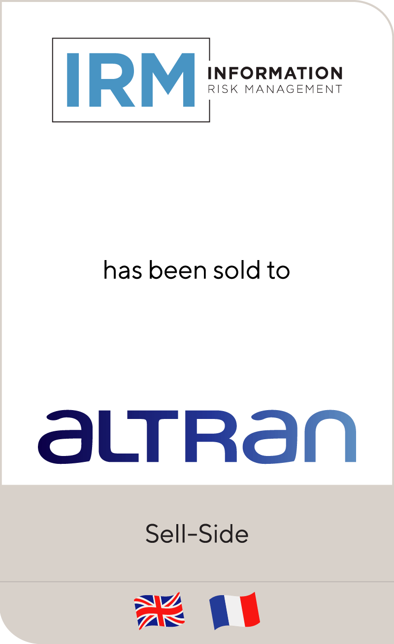 IRM has been sold to Altran