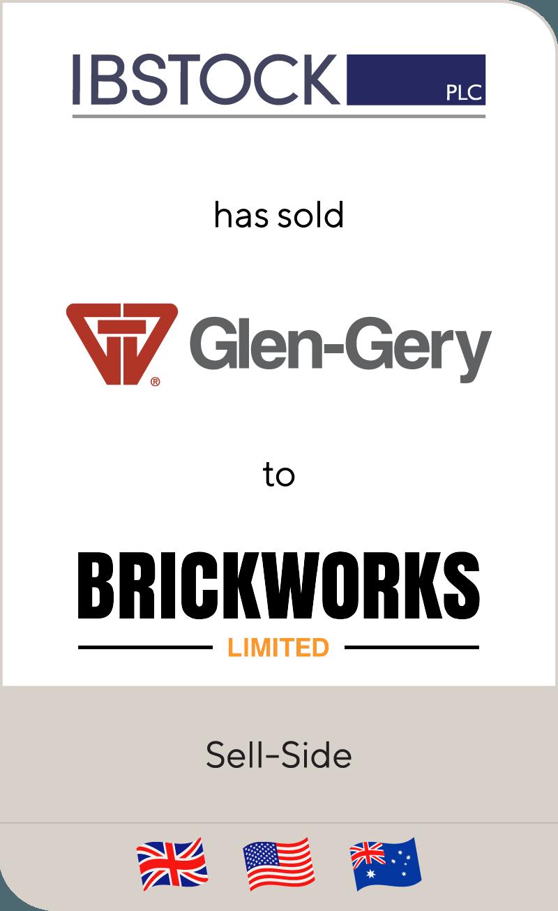 Ibstock has sold Glen-Gery to Brickworks