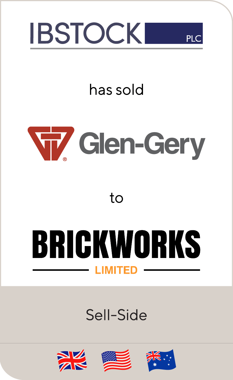 Ibstock has sold Glen-Gery to Brickworks
