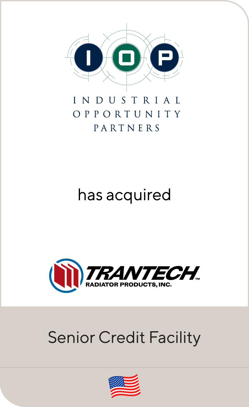 Industrial Opportunity Partners Trantech Radiator Products 2011
