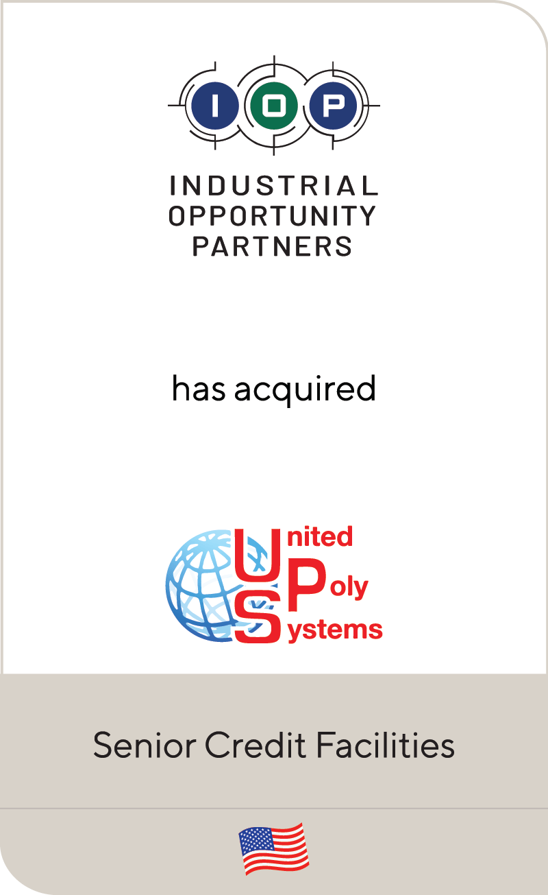 Industrial Opportunity Partners United Poly Systems 2019
