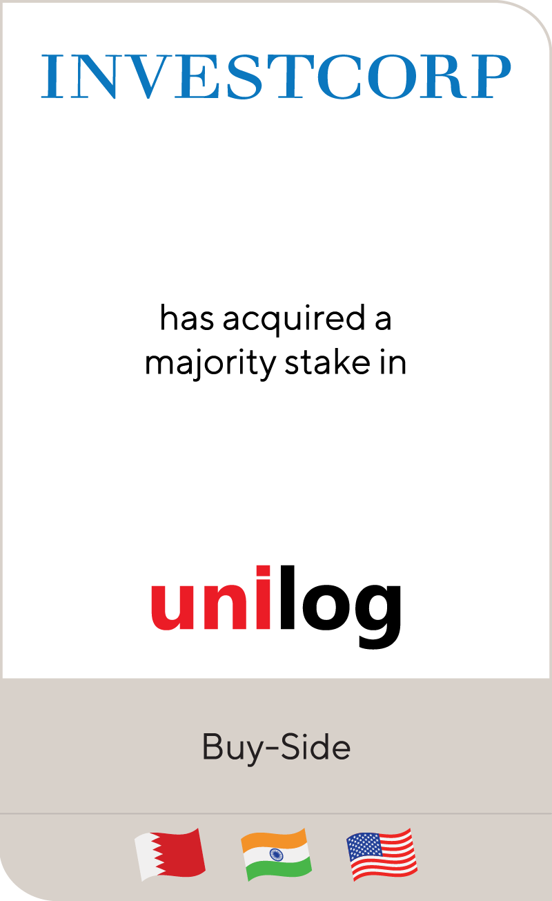 Investcorp Unilog 2020