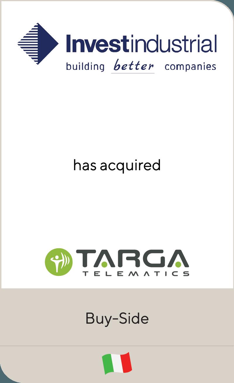 Investindustrial Targa Telematics 2021