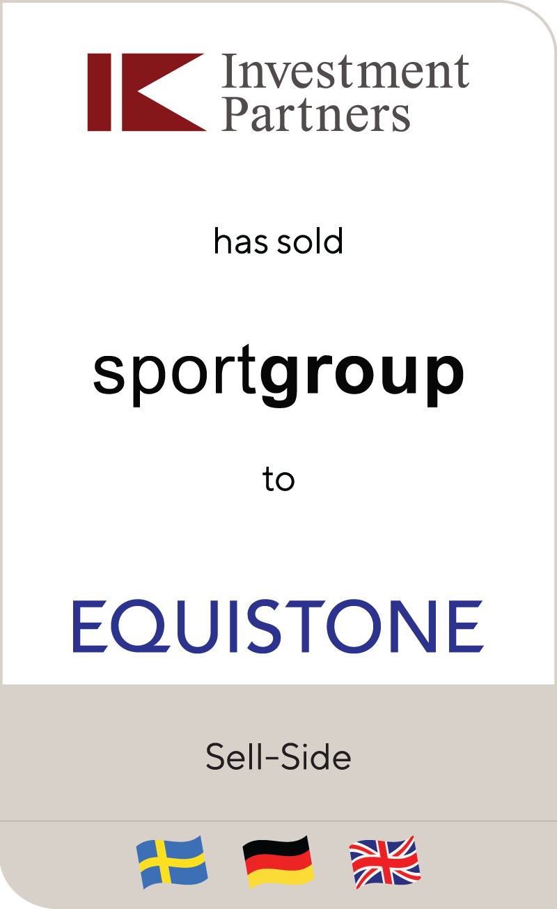 Investment Partners Sportgroup Equistone 2015