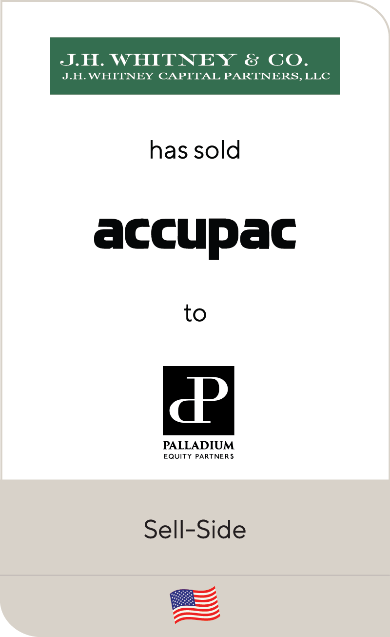 J.H Whitney & Co. Accupac Palladium Equity 2020