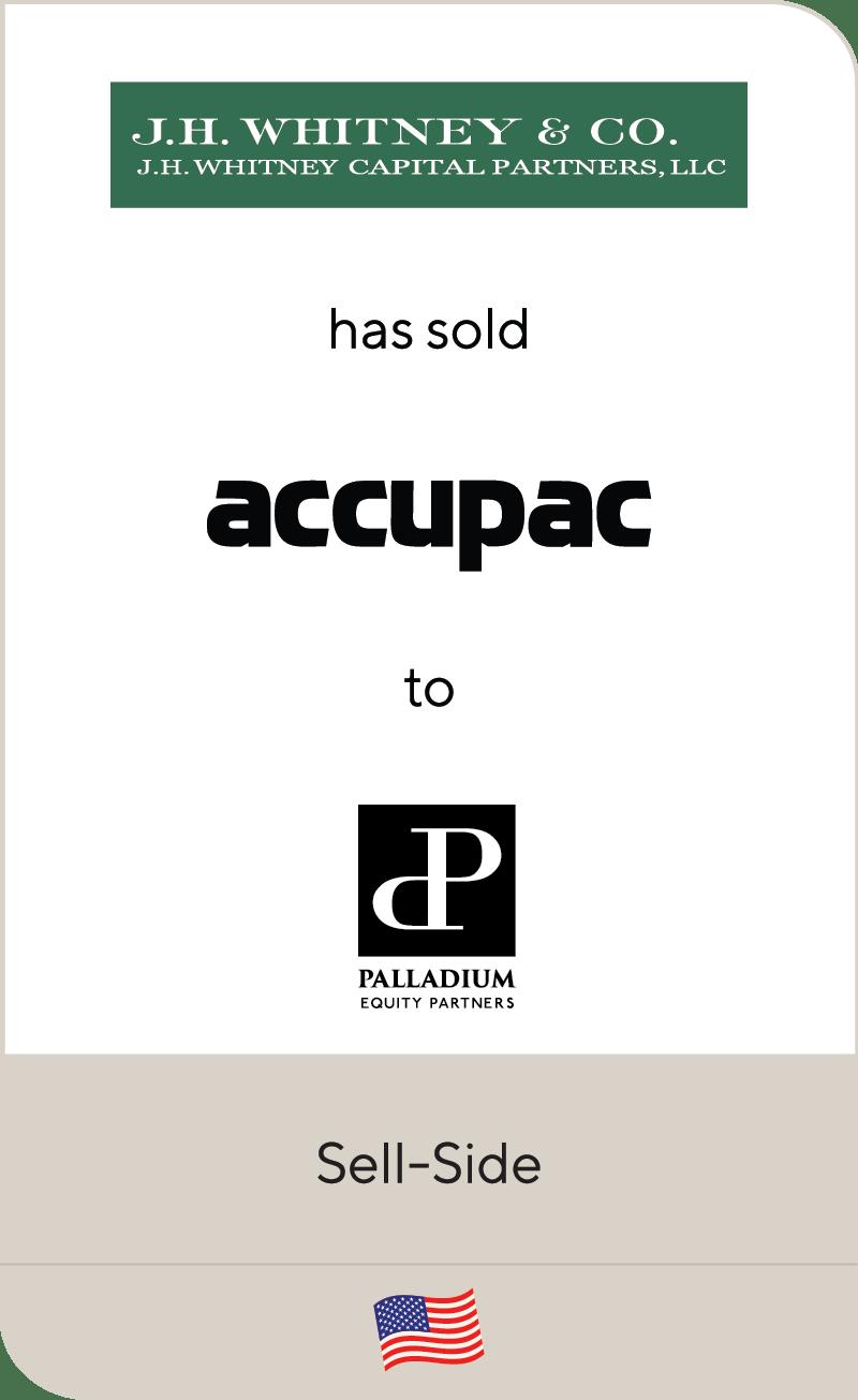 J.H Whitney & Co. Accupac Palladium Equity 2020
