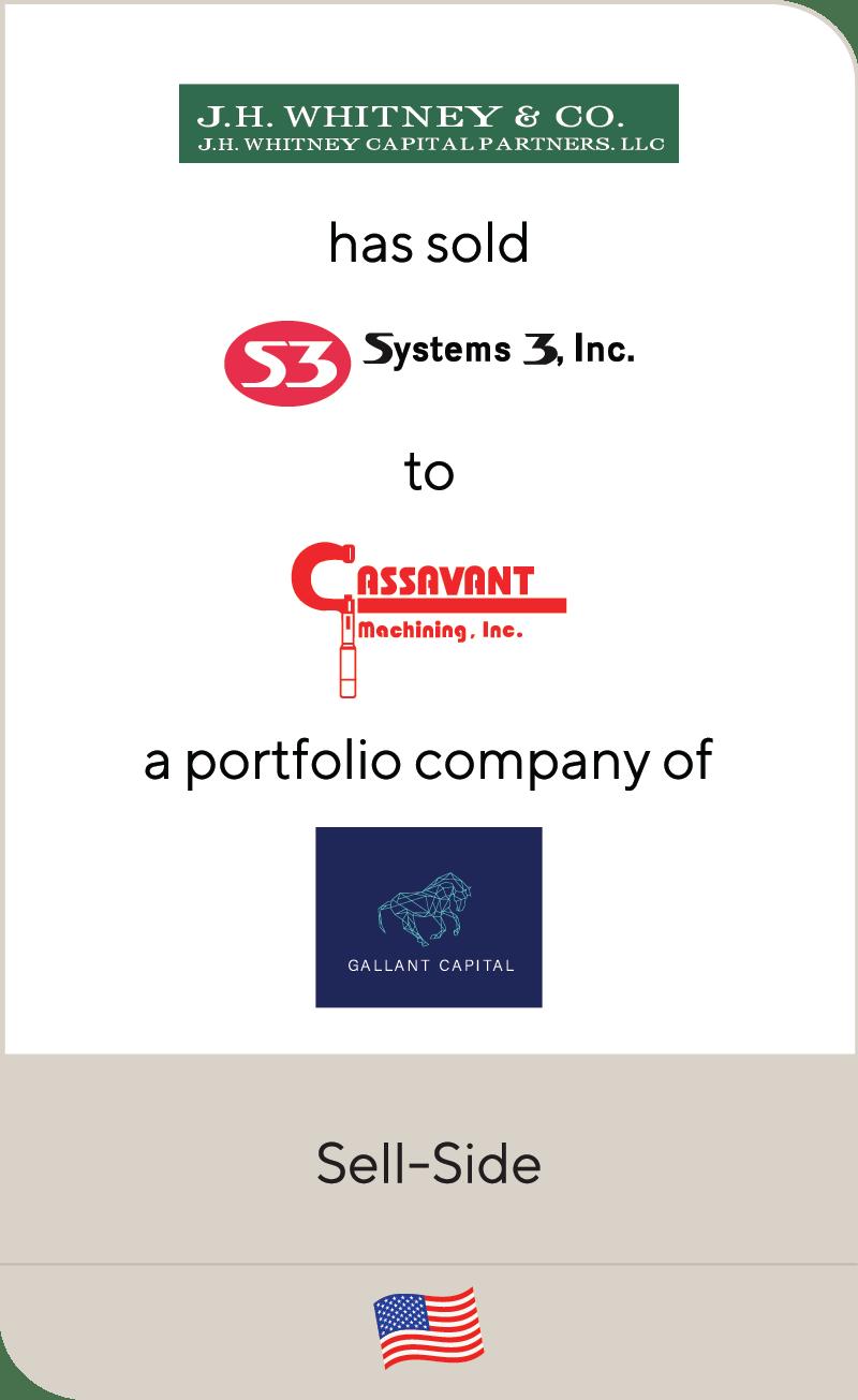 J.H. Whitney System 3 Inc Cassavant Gallant Capital 2021
