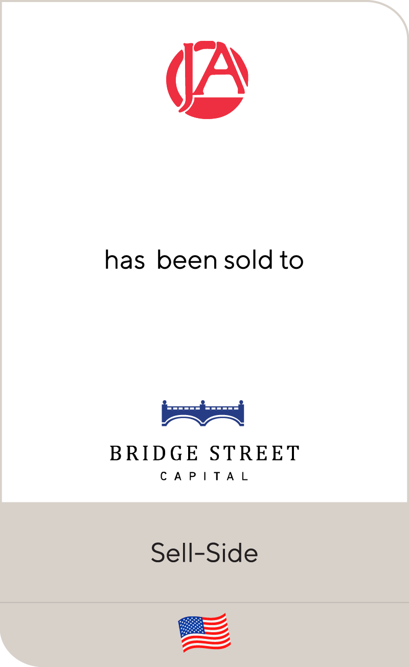 Jacob Ash has been sold to Bridge Street Capital