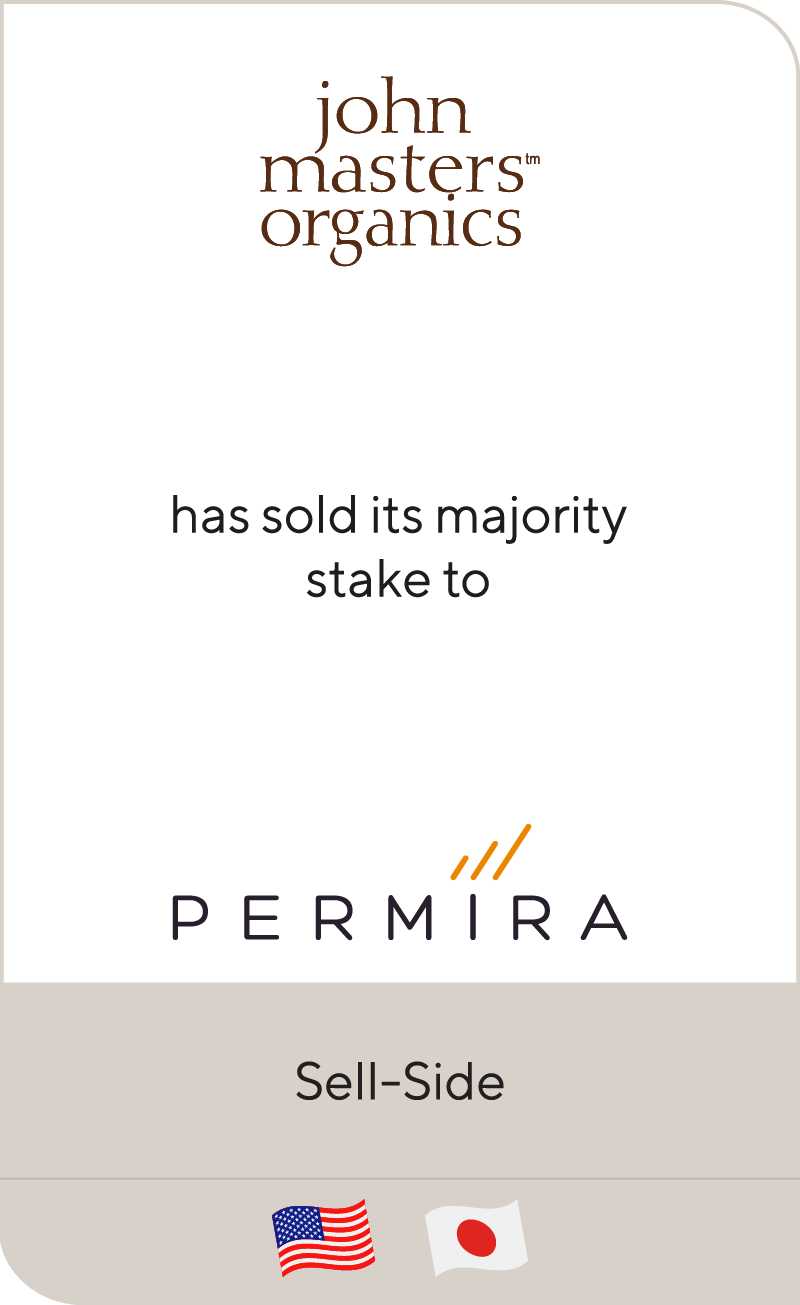 John Masters Organics has been sold to Permira