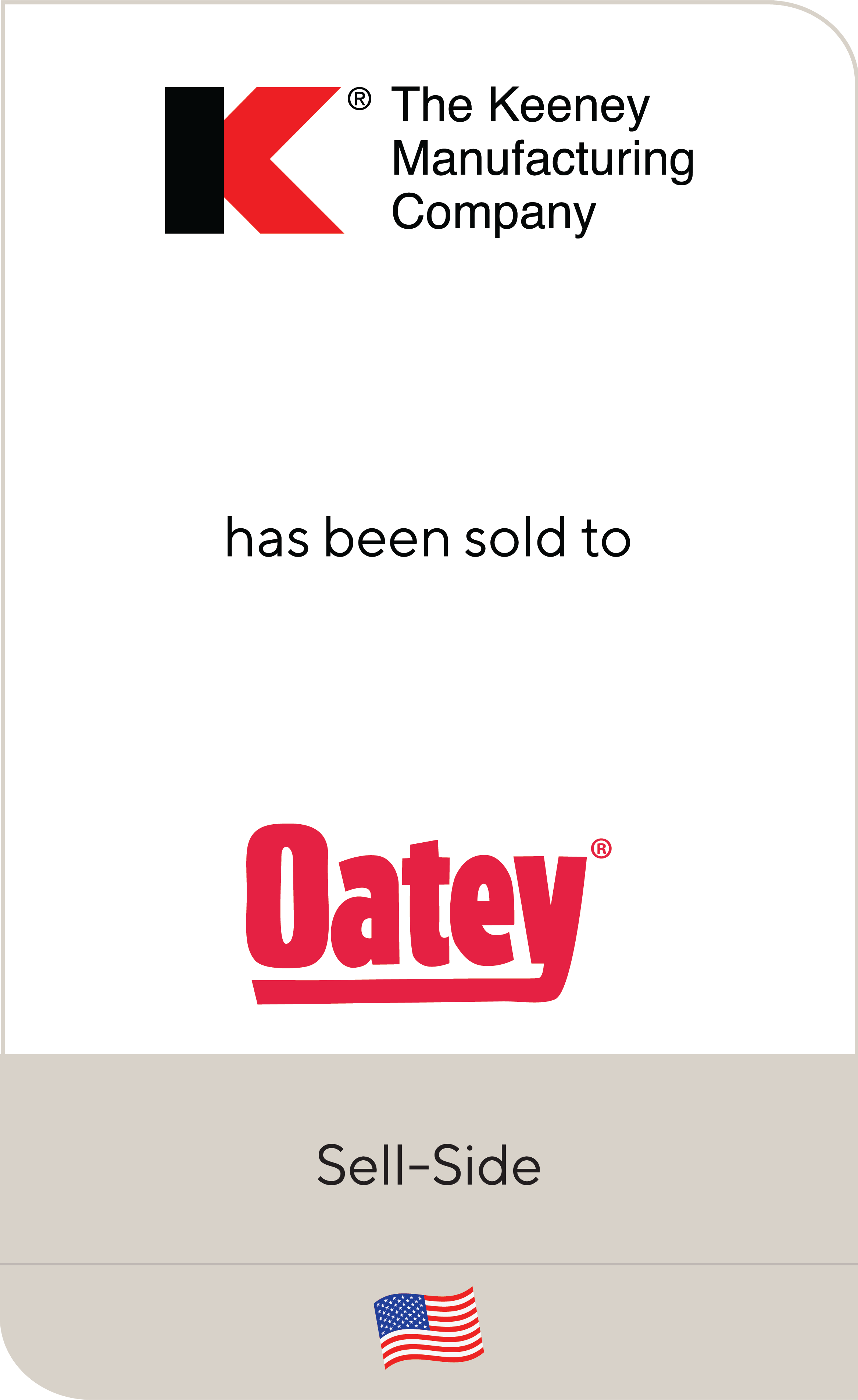 Keeney Manufacturing Company Oatey Company 2019