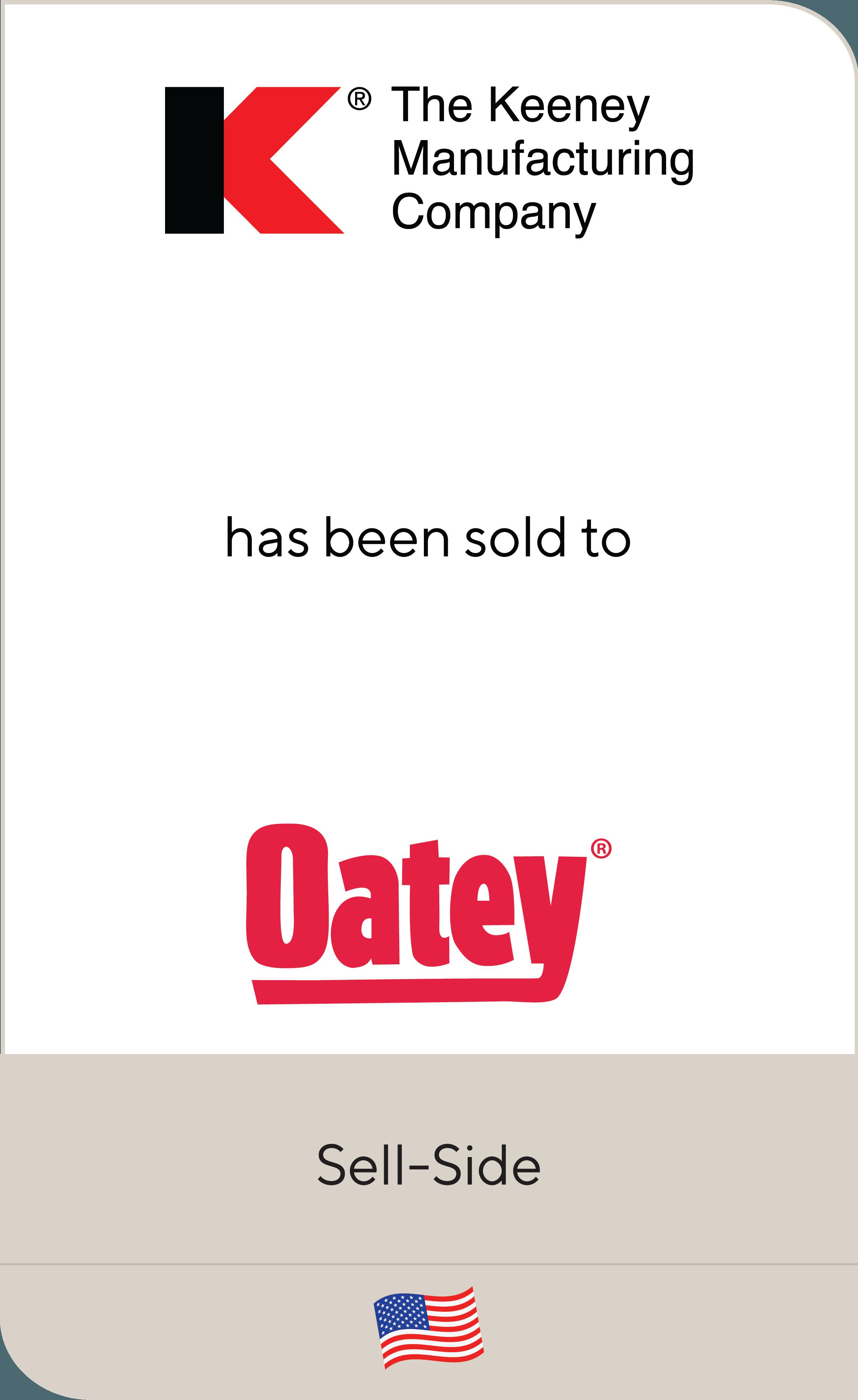 Keeney Manufacturing Company Oatey Company 2019