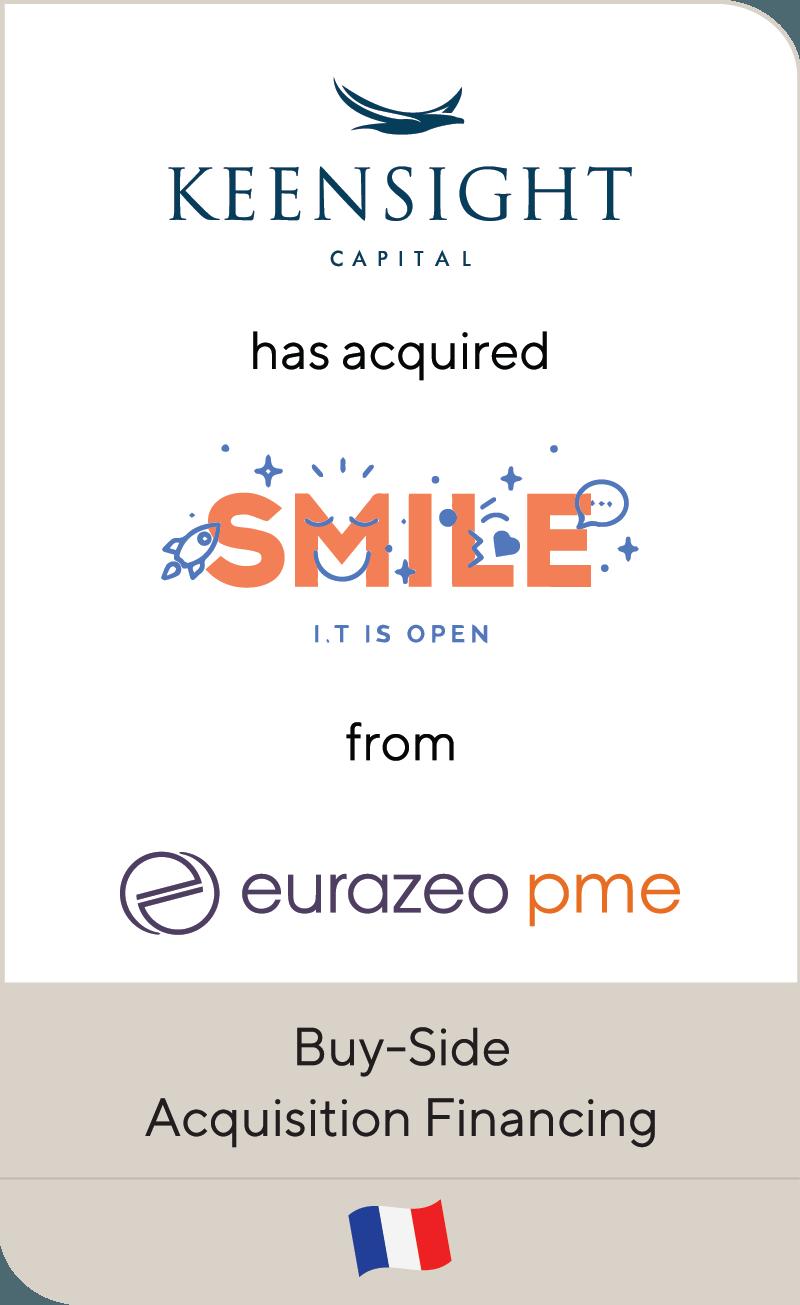 Keensight Capital Smile Eurazeo PME 2019