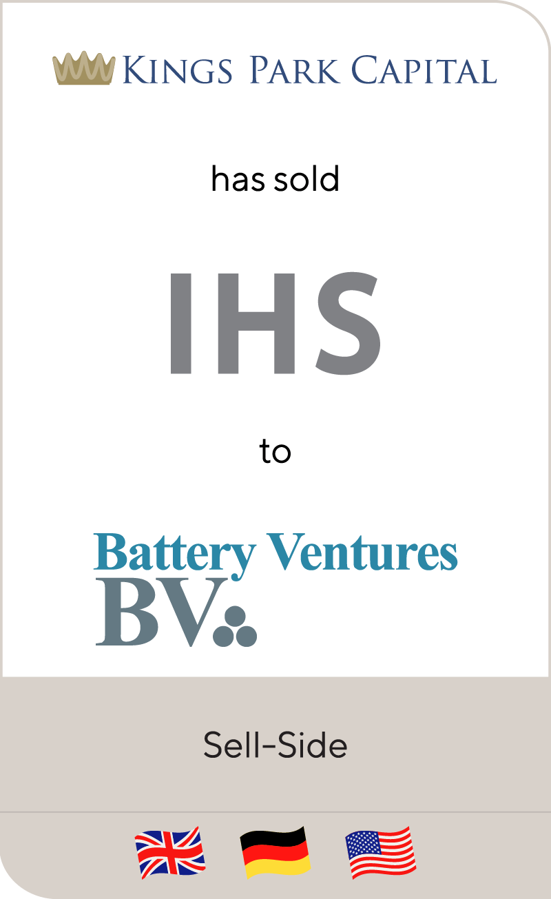 Kings Park Capital IHS Battery Ventures 2013
