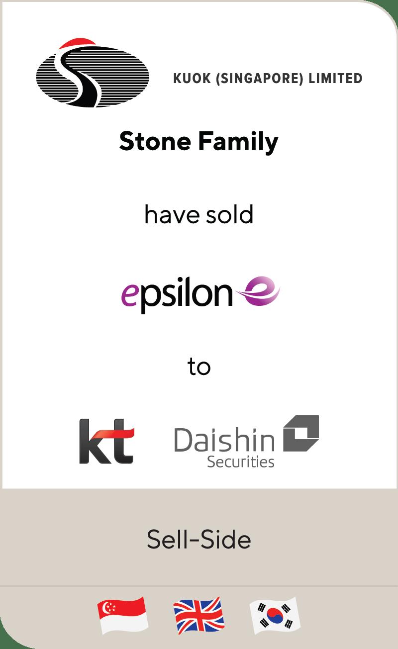 Kuok Group Stone Family Epsilon Global KT Corportation Daishin Private Equity 2021