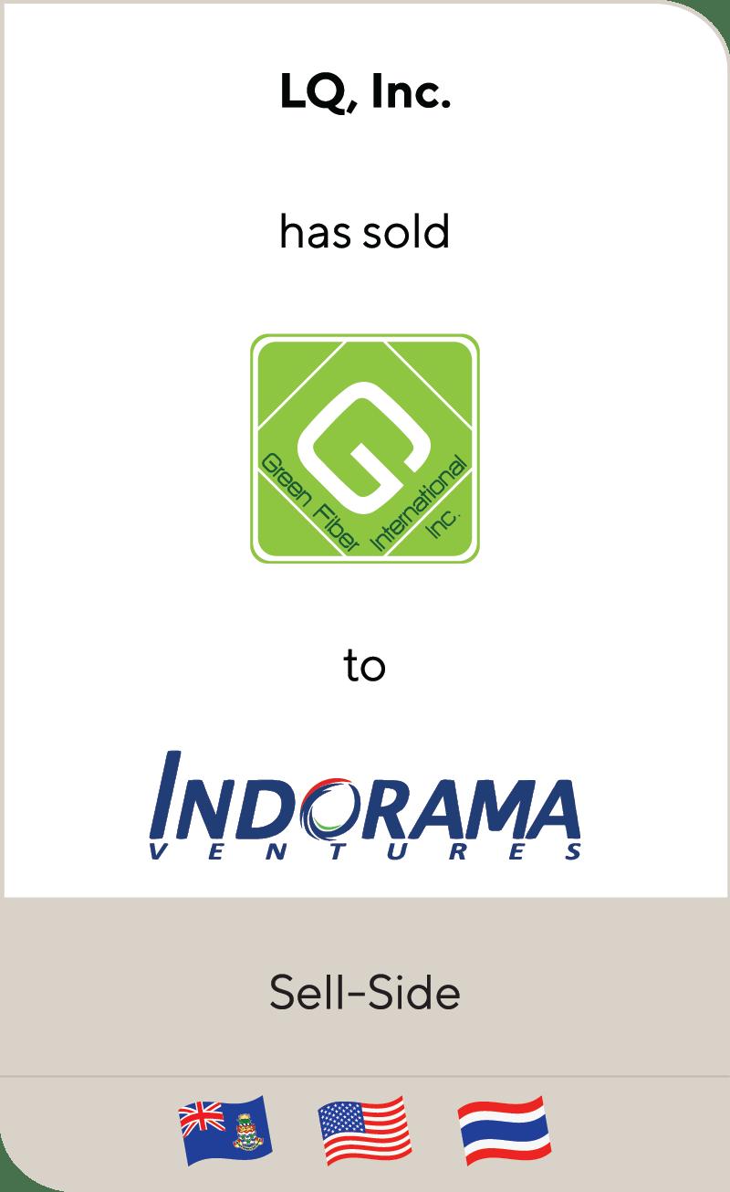 LQ Green Fiber Indorama 2019