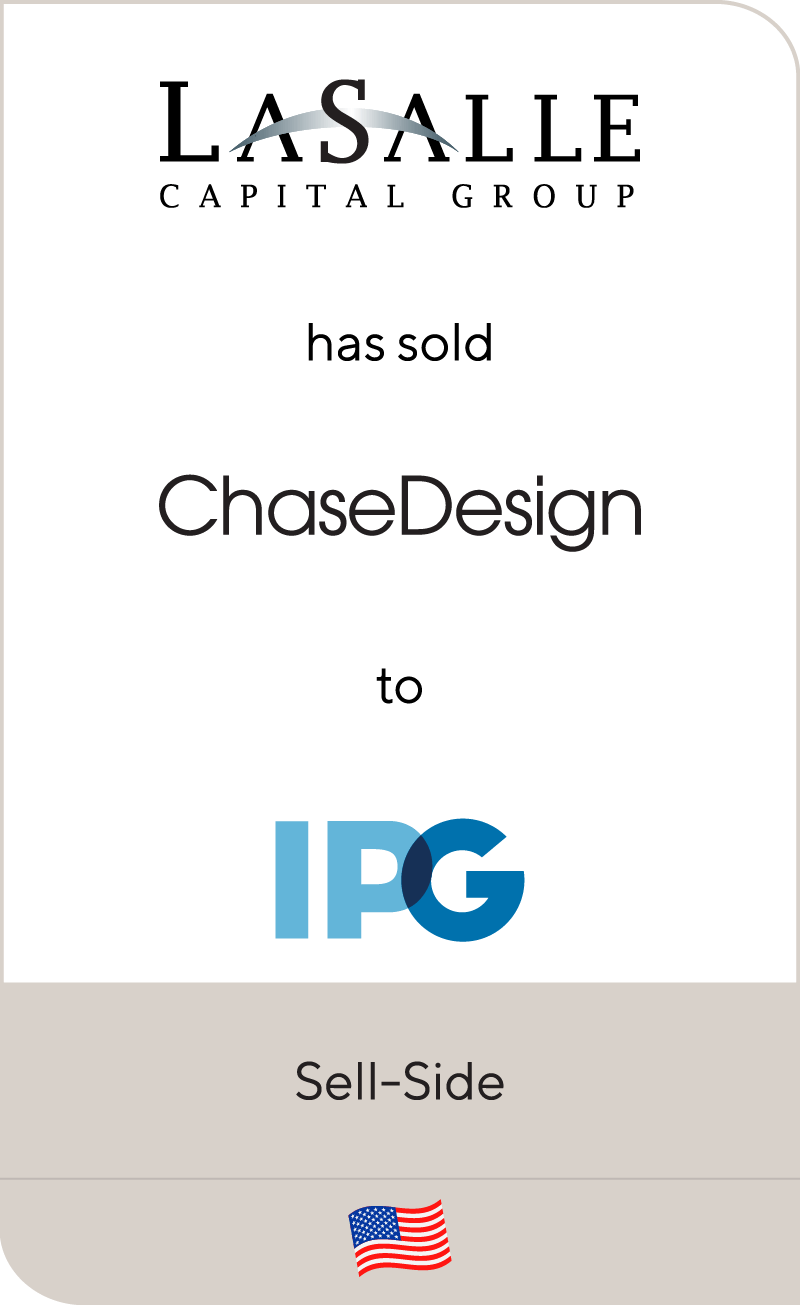 LaSalle Capital Group Chase Design IPG 2012