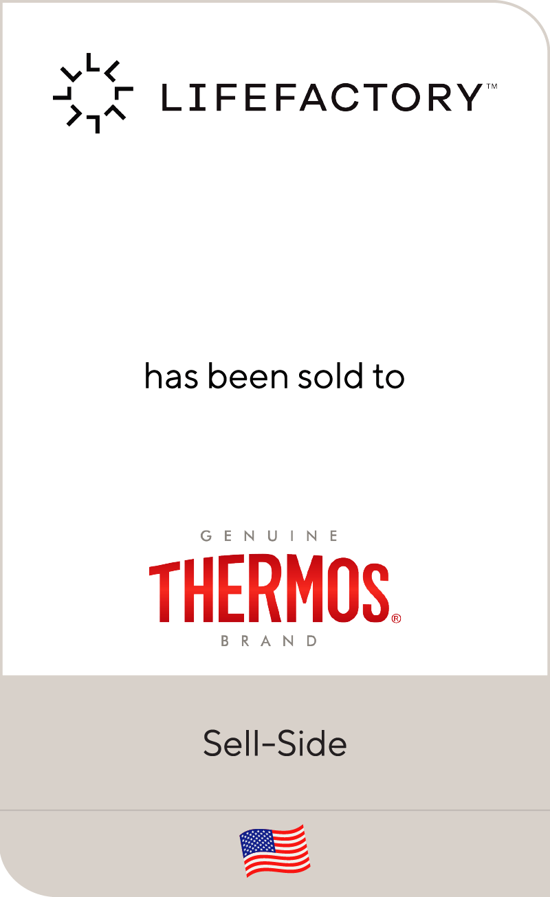 Lifefactory has been sold to Thermos