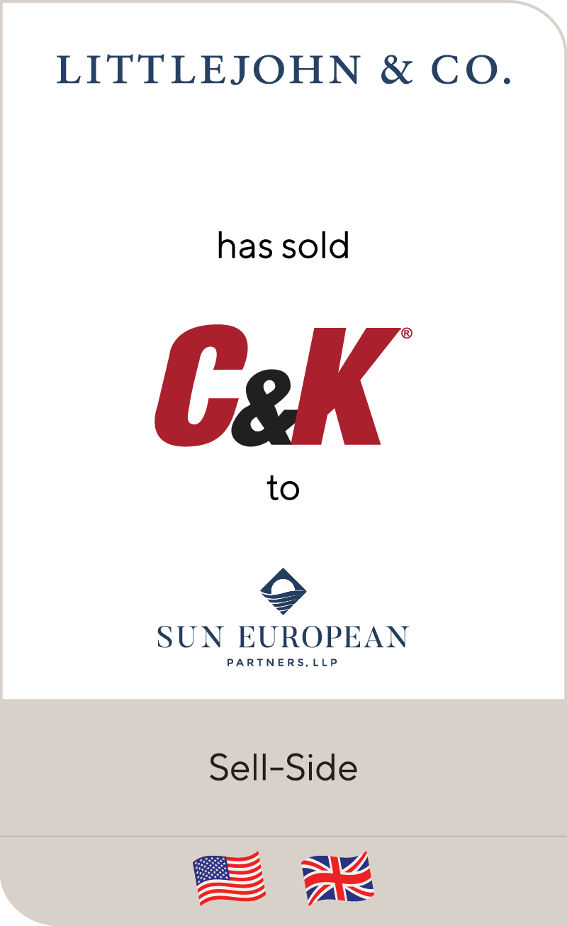 LittleJohn has sold C&K to Sun European