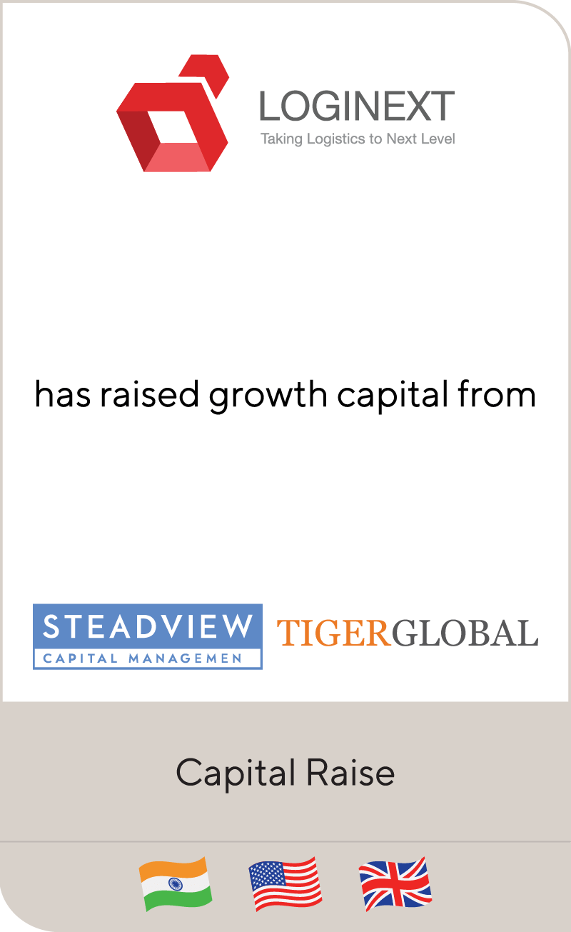 LogiNext Solutions Steadview Capital Tiger Global 2020