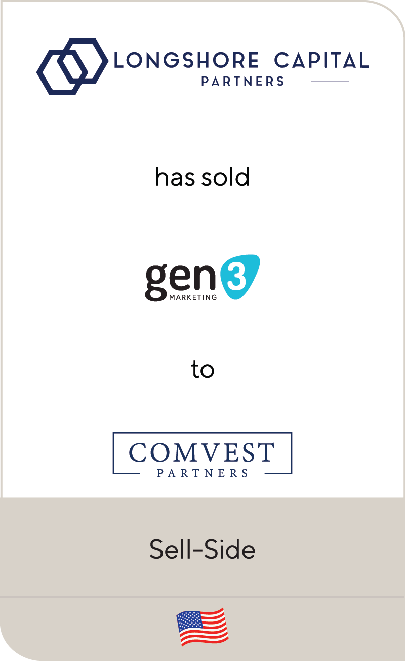 LongShore Capital Partners Gen3 Comvest Partners 2021