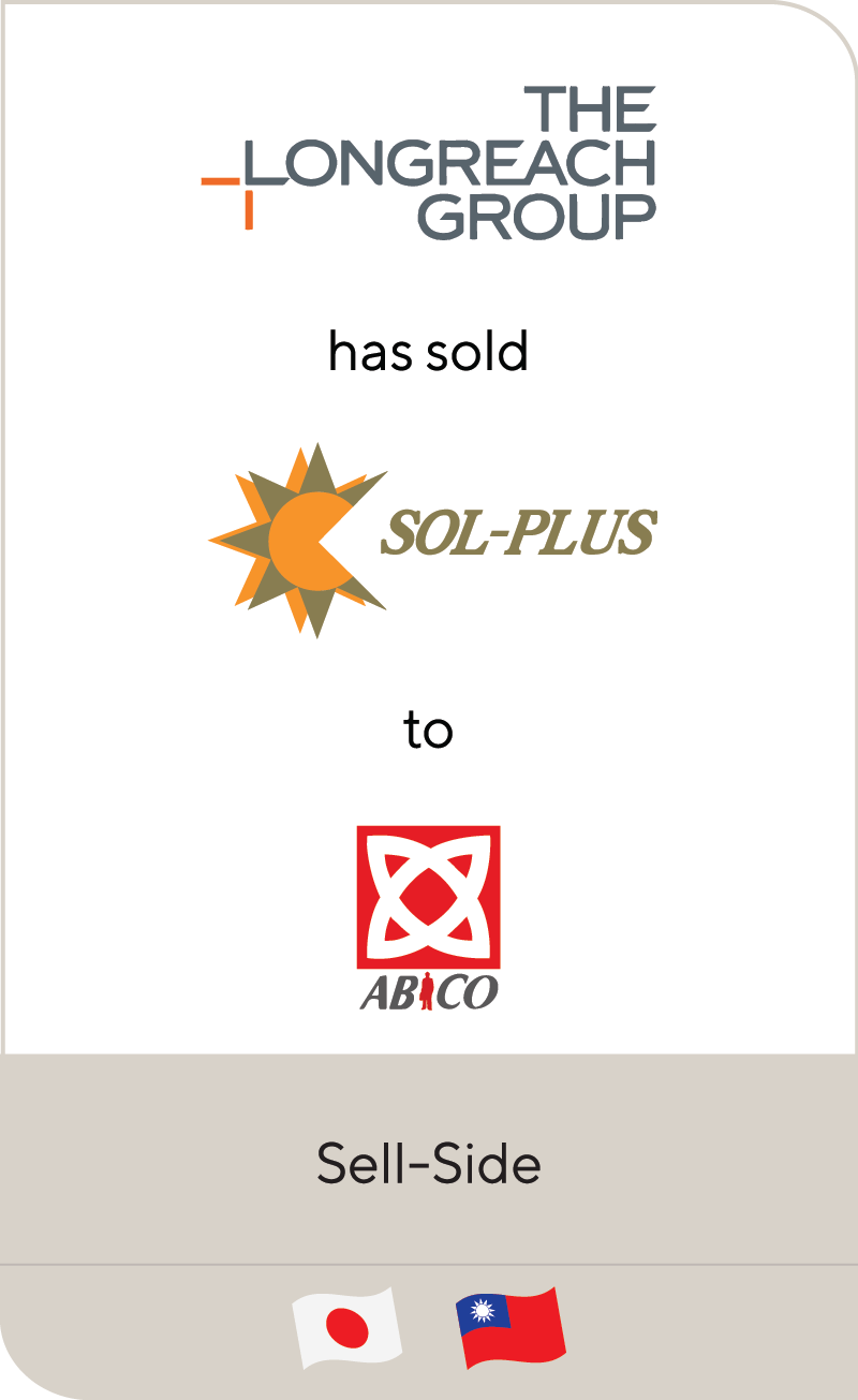 Longreach Group The Sol Plus Ltd ABICO Group 2019
