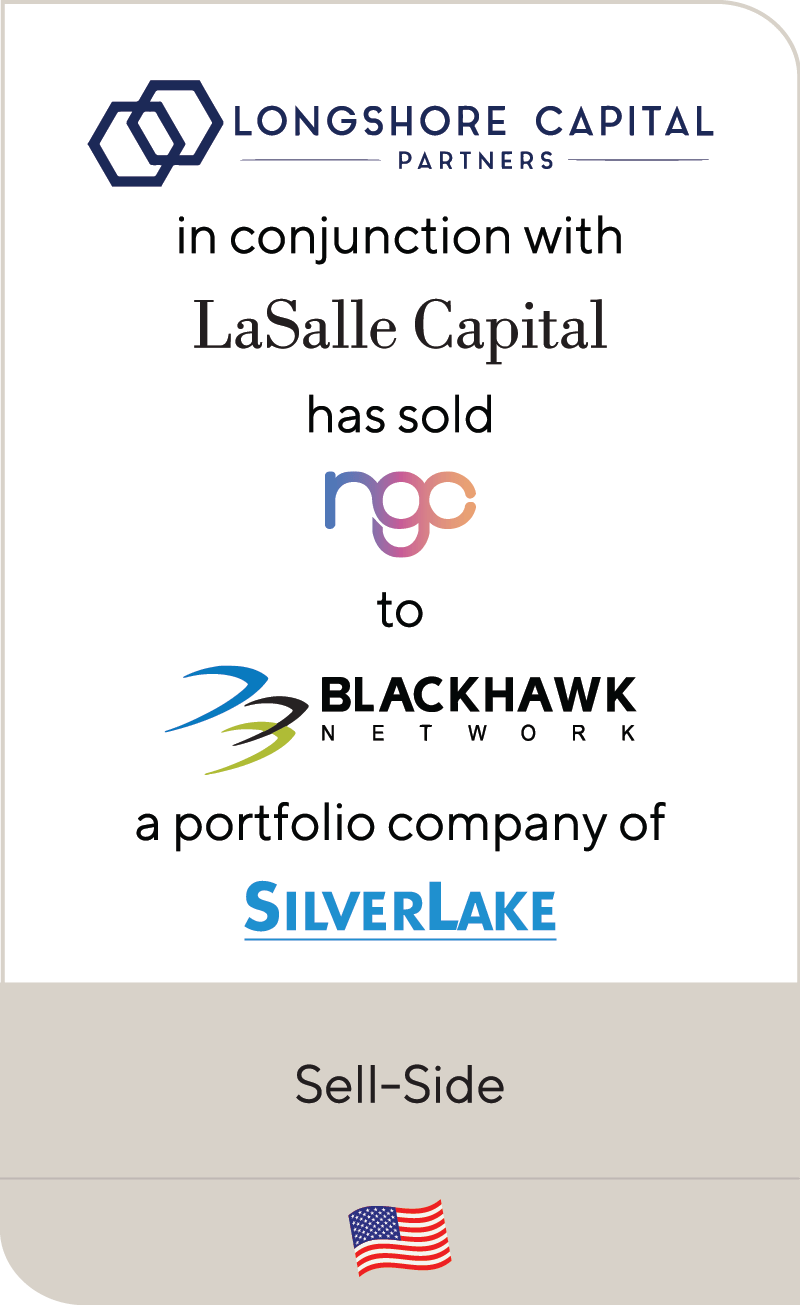 Longshore Capital LaSalle National Gift Card Blackhawk Silverlake 2020