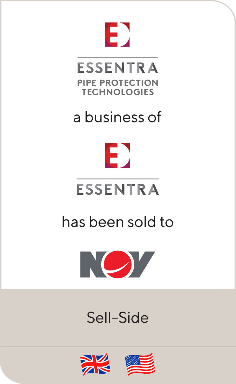 Essentra has sold its Pipe Protection Technologies business to National Oilwell Varco