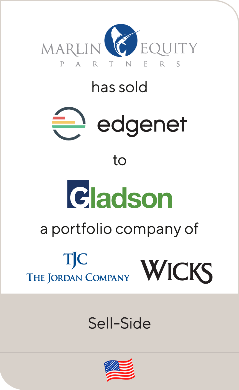 Marlin Equity Partners has sold Edgenet to Gladson