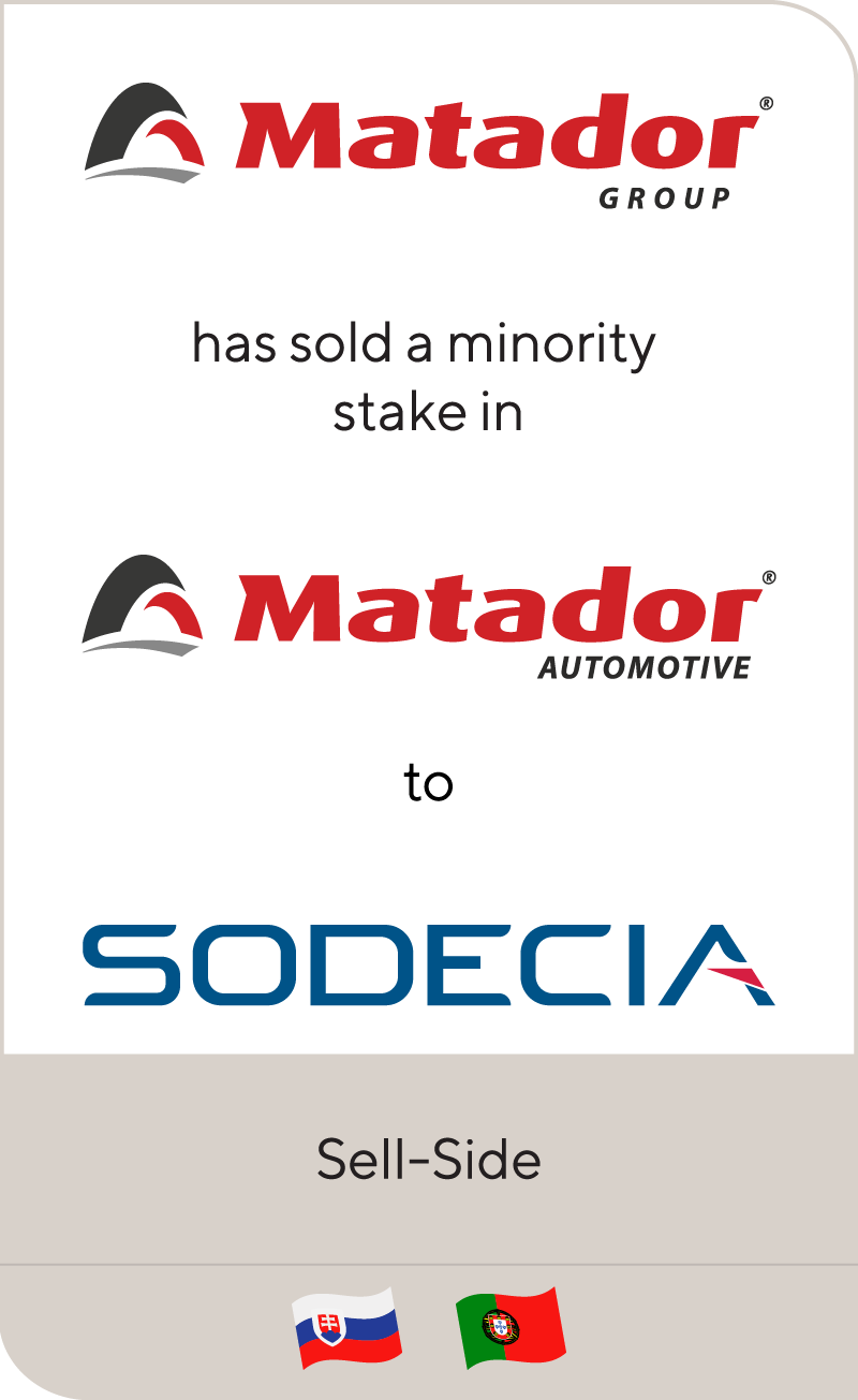 Matador Group has formed a partnership between its automotive division and Sodecia
